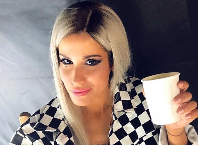 Baby K, cantante, compositora y modelo italiana