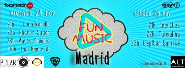ARTÍCULO | Llega a Madrid el Fun Music Festival