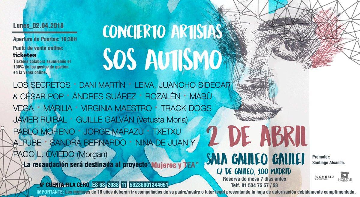 ARTÍCULO | El Concierto Artistas SOS Autismo cuelga el cartel de entradas agotadas