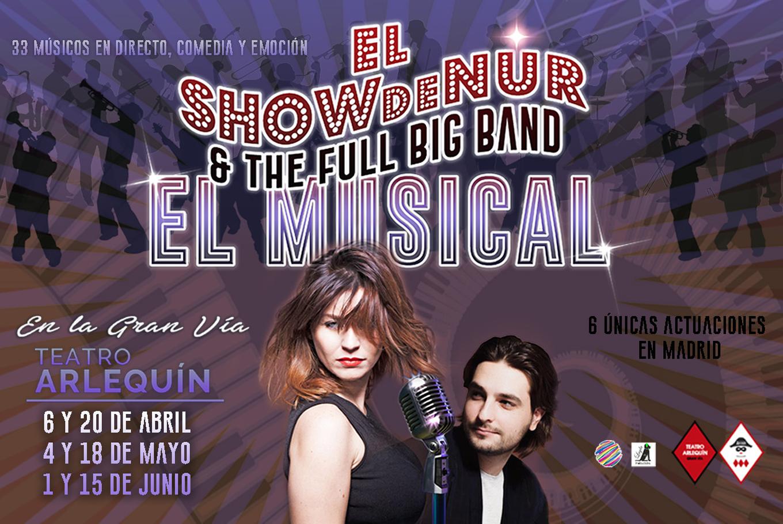 CRÓNICA | Nur estrena su Show, llenando el Teatro Arlequín de Madrid