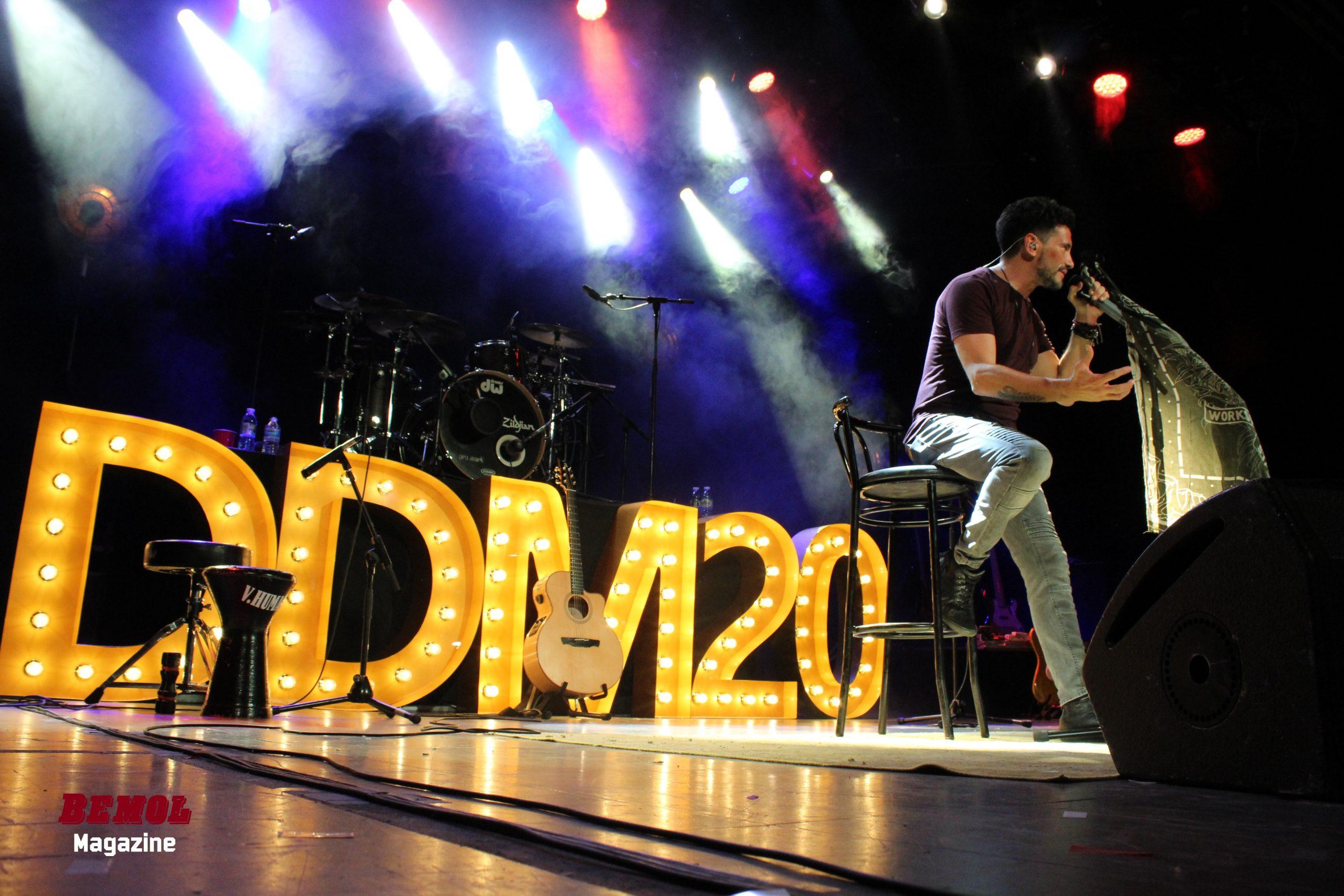 CRÓNICA | David DeMaría celebra por todo lo alto sus 20 años de carrera en Madrid