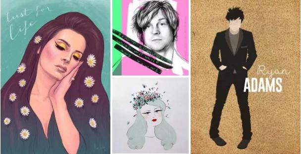 CRÓNICA | El Ciclo Music Pill rinde homenaje a Lana del Rey y Ryan Adam con una noche de música y mucho arte