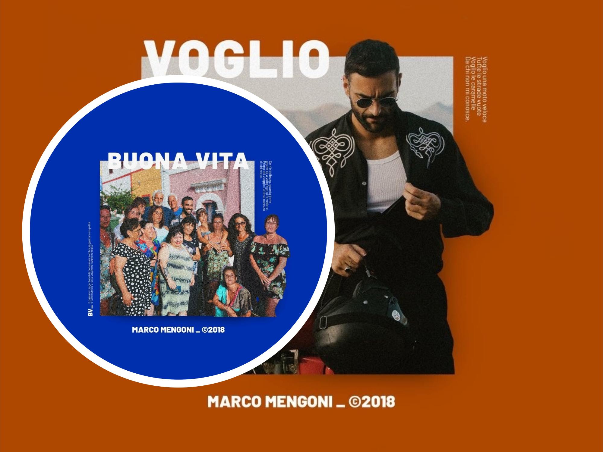 ARTÍCULO | Marco Mengoni quiere buena vida