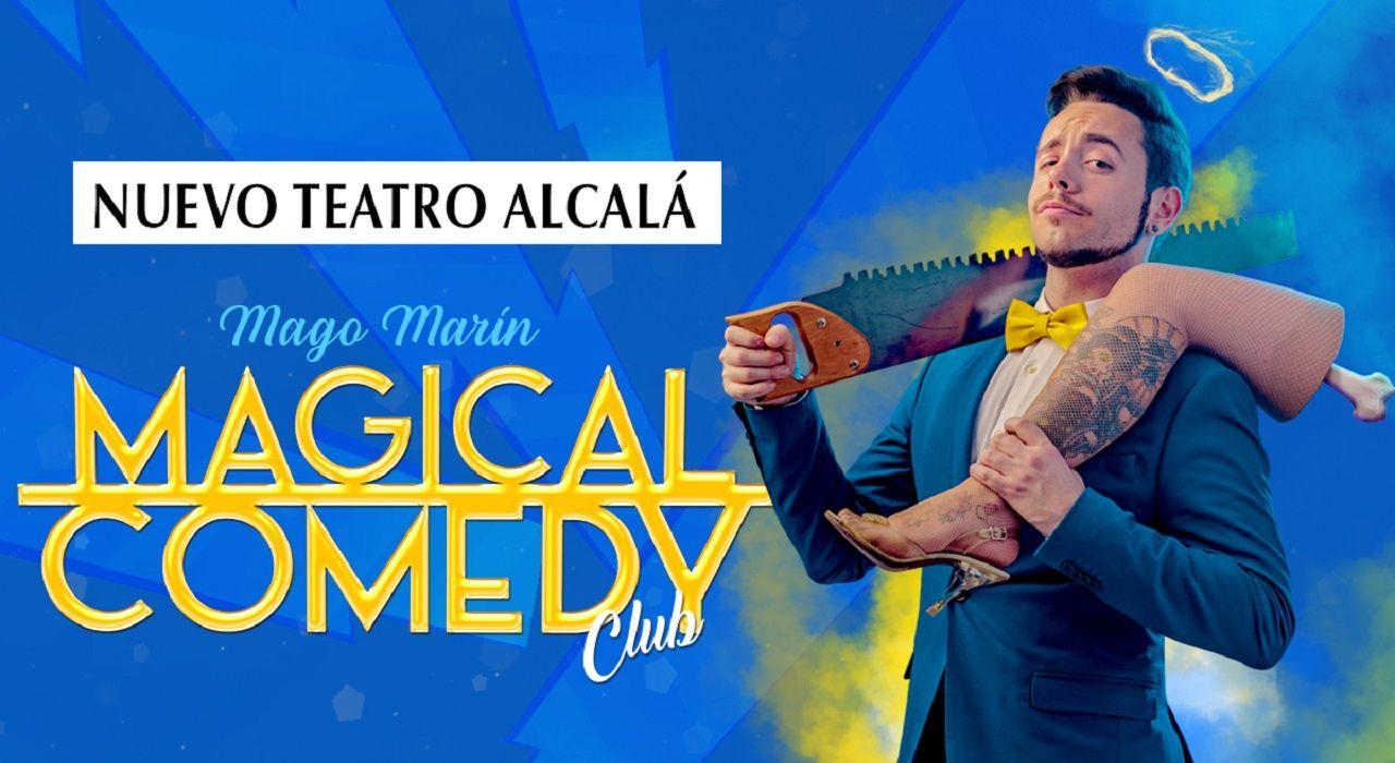 ARTÍCULO | Llega a Madrid Magical Comedy Club, el nuevo show del Mago Marín
