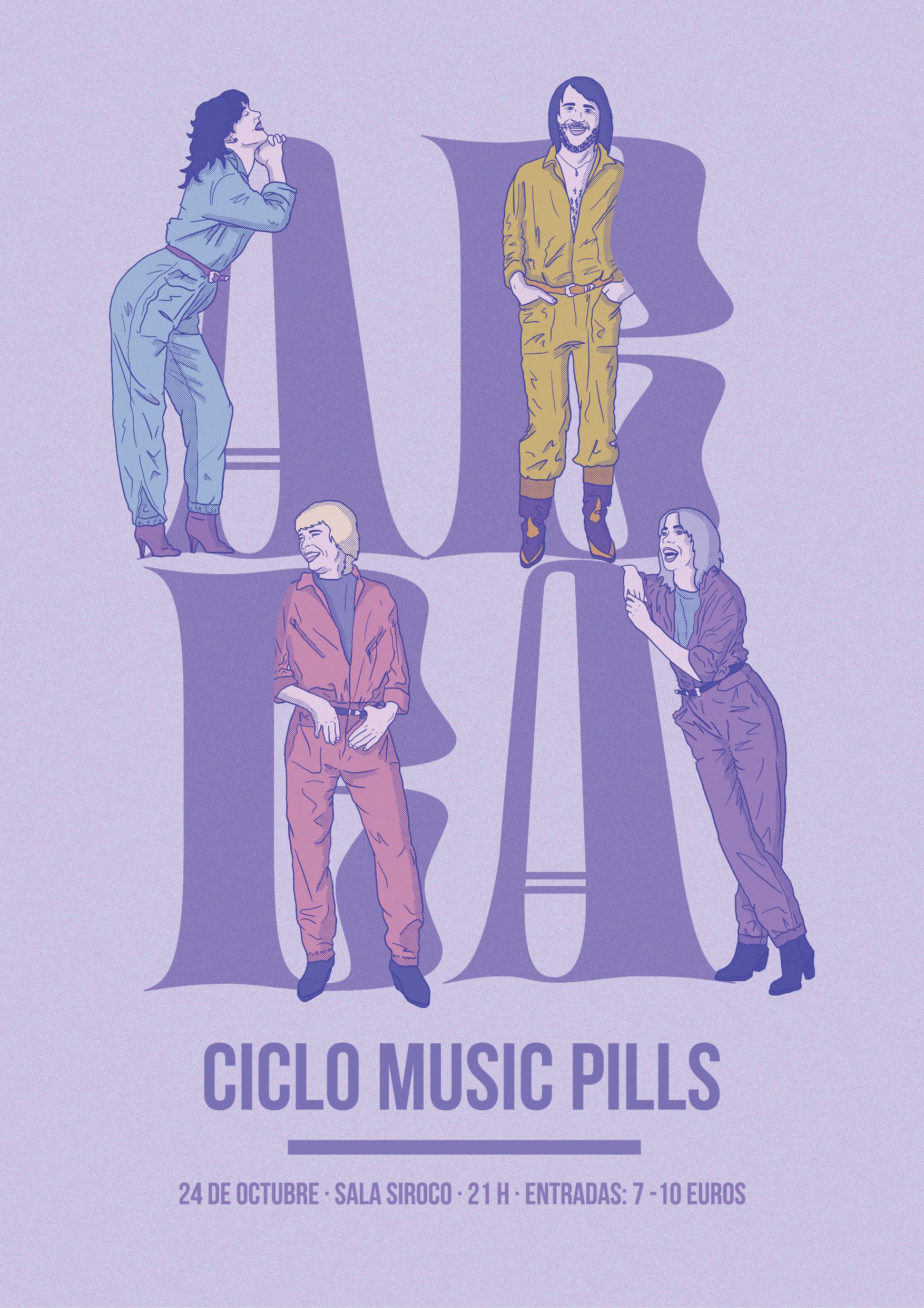 ARTÍCULO | El ciclo Music Pill se despide homenajeando a ABBA