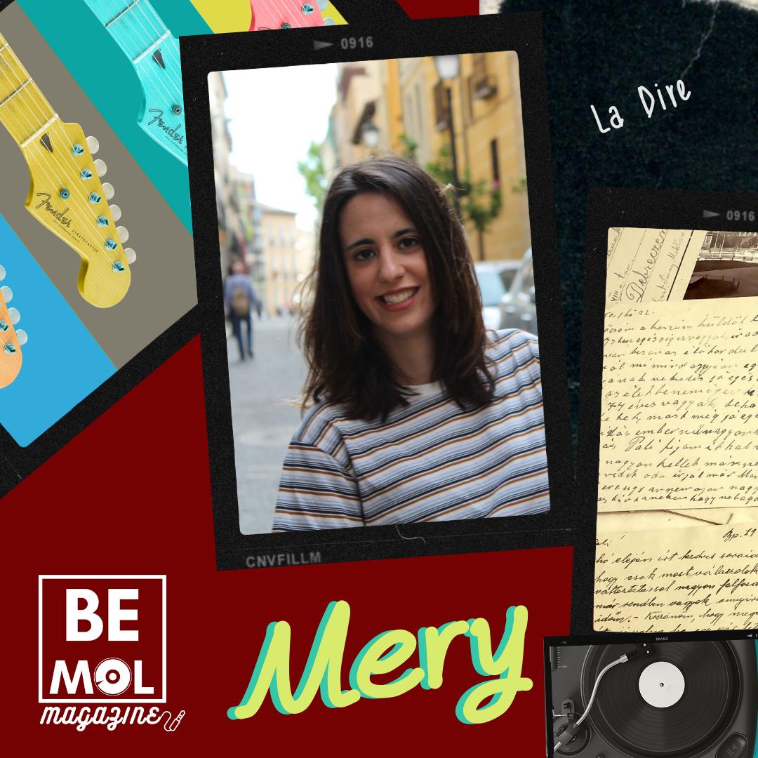 María, directora de Bemol Magazine